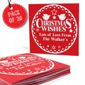 Christmas Wishes Pack of 20 Cards